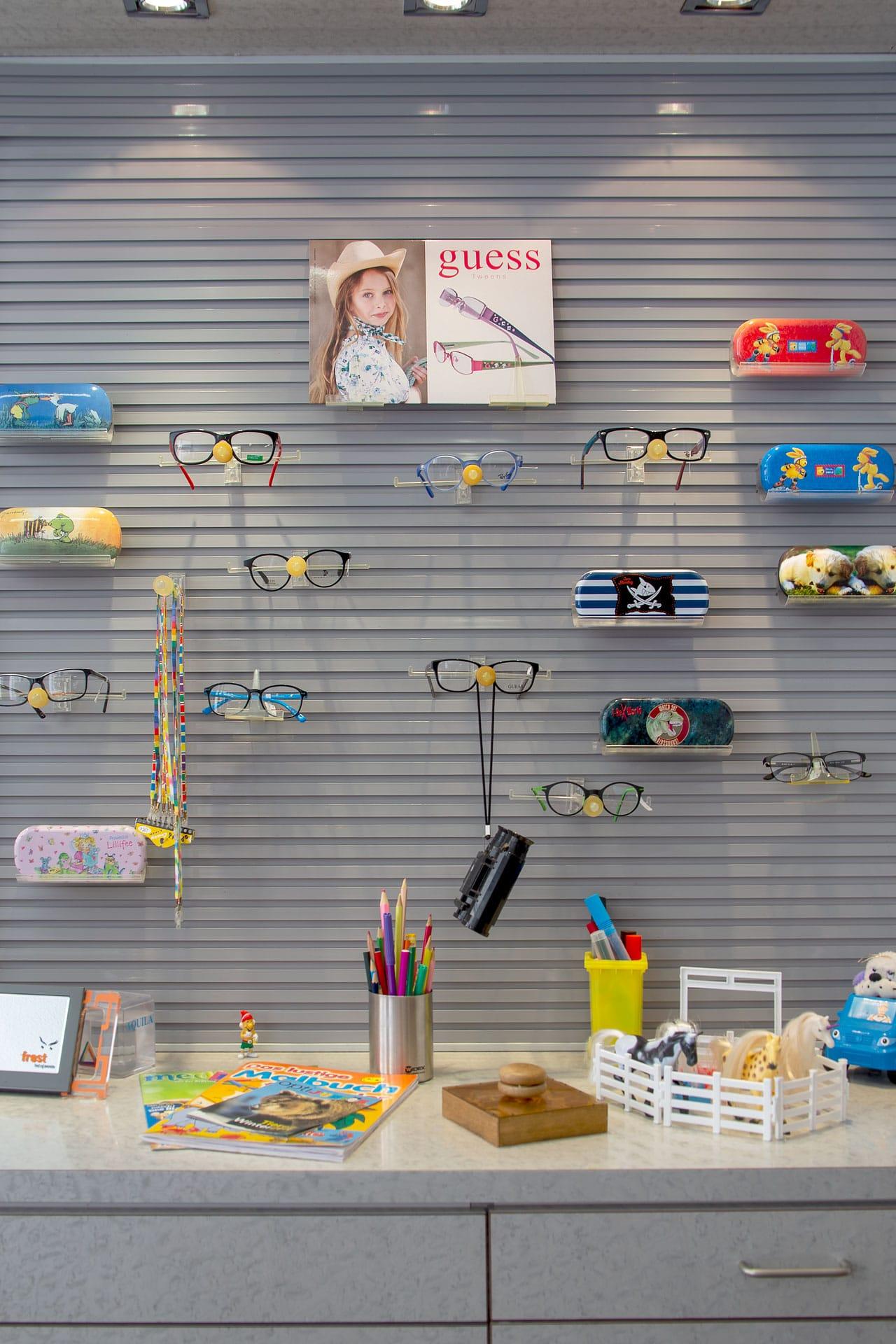 Auswahl Kinderbrillen