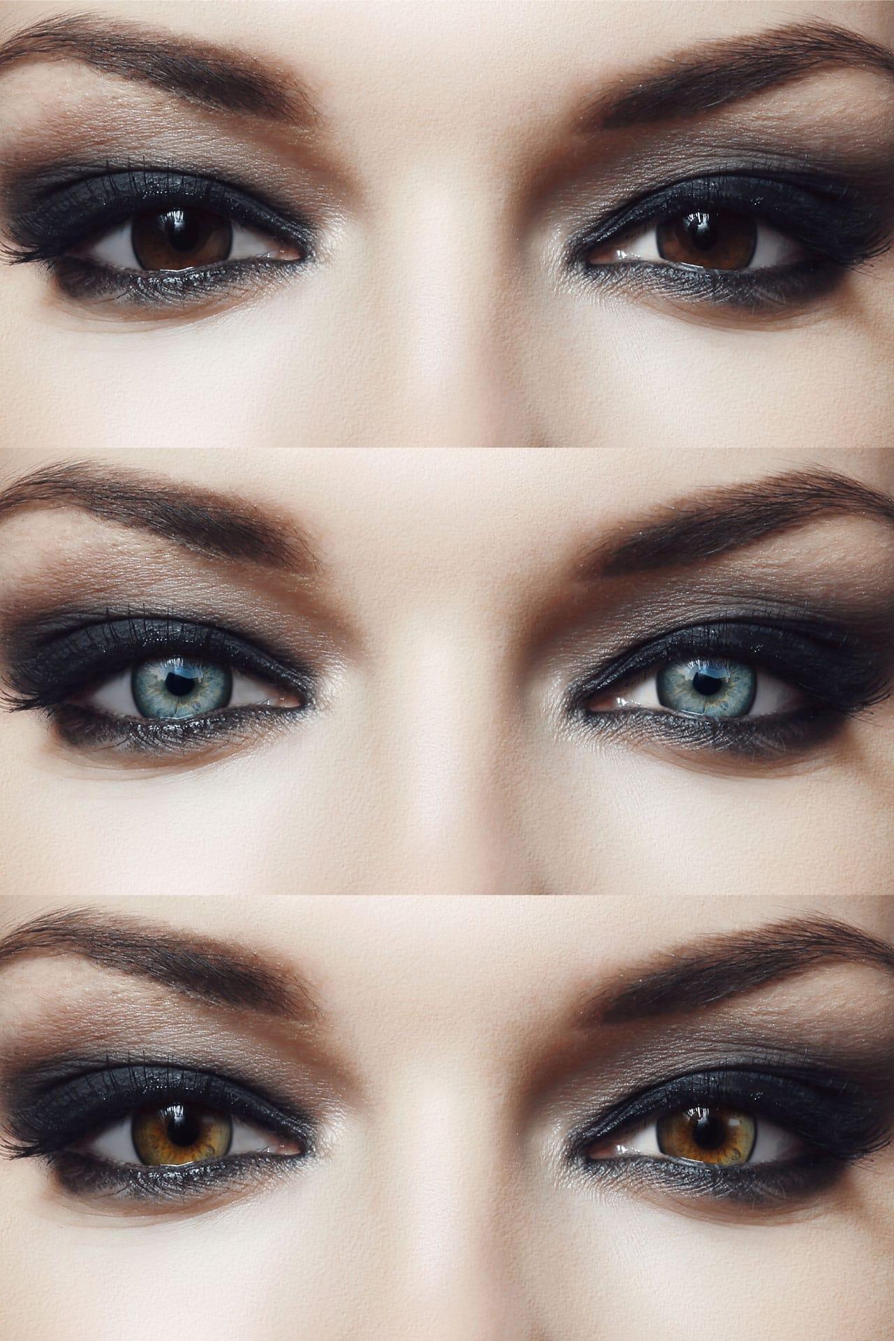 Kontaktlinsen (farbig)